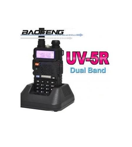 Walkie Talkie Baofeng UV-5R Bibanda