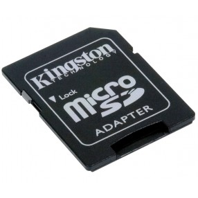Adaptador Tarjeta Micro SD Kingstom