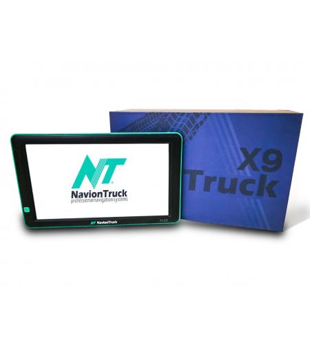Navion X9 Truck - GPS para Camion con Dashcam y 9 Pulgadas