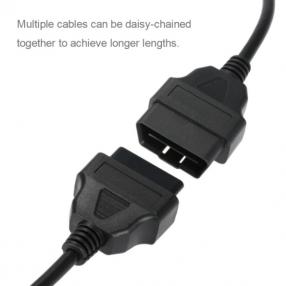 Cable Extensión OBD 2 16pin 150cm