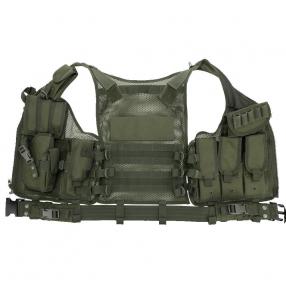 Chaleco Táctico Militar del Ejército de Poliéster, Chaleco Airsoft, Caza, Excursión