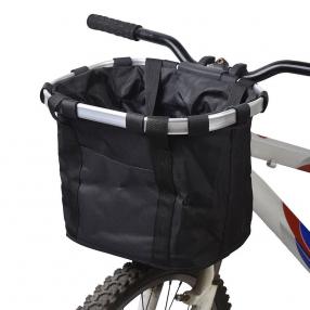 Cesta de lona para Bicicleta de quita y pon