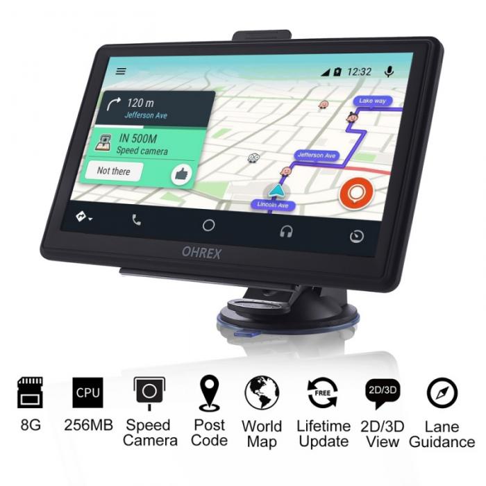 Navegador GPS Camión Ohrex NT6